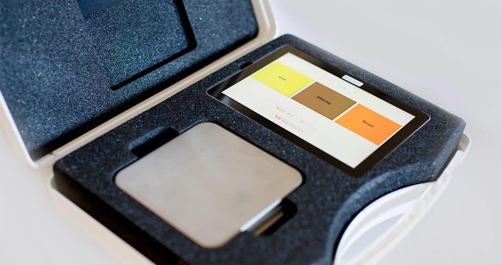 measurelet scale til hjemmemonitorering