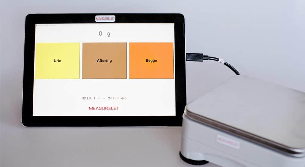 measurelet scale kalibreret vægt til væskeregnskab