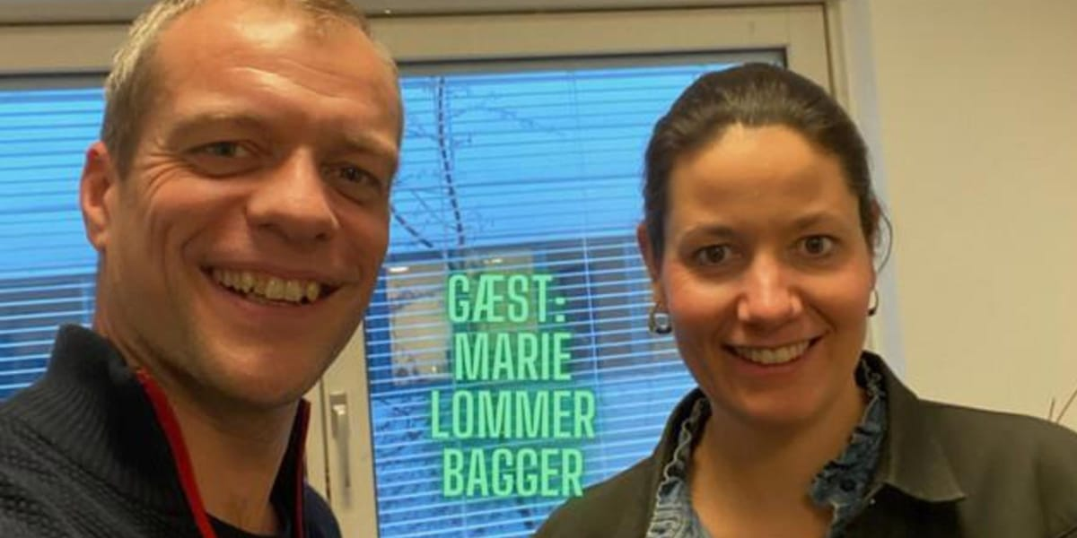 Marie Lommer Bagger Gæst I Podcasten Courage
